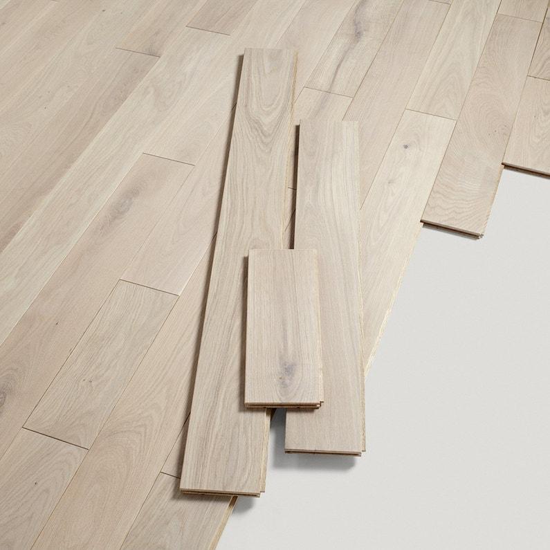 parquet massif ch ne blanchi huil l artens massif leroy merlin. Black Bedroom Furniture Sets. Home Design Ideas