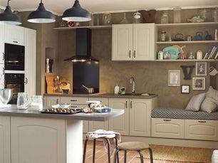 Cuisine quip e meuble de cuisine amenagement - Modele cuisine leroy merlin ...