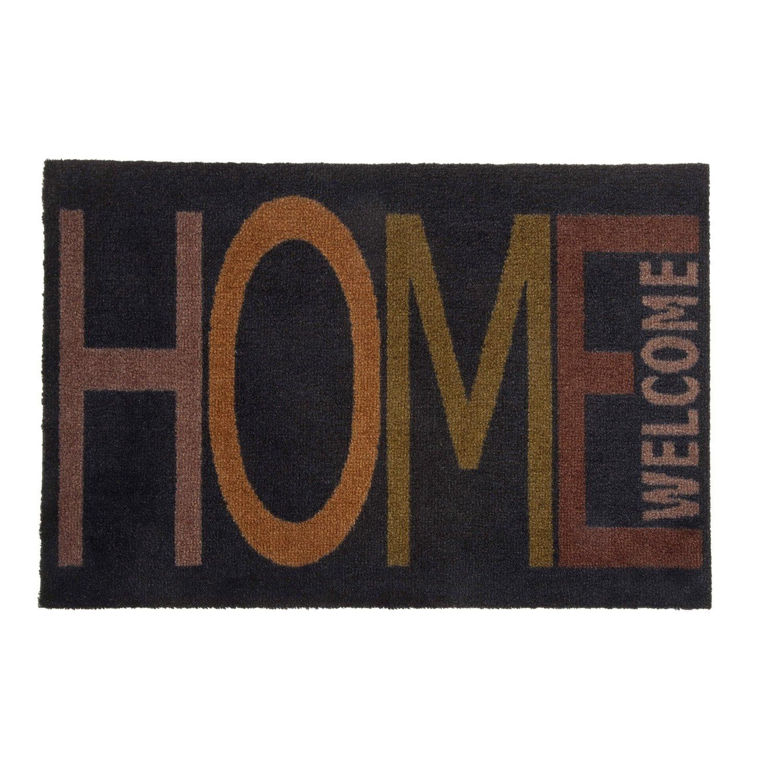 Paillasson Synth Tique Noir X Cm Doormat Home