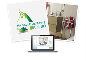 Concevoir ma salle de bains en 3D