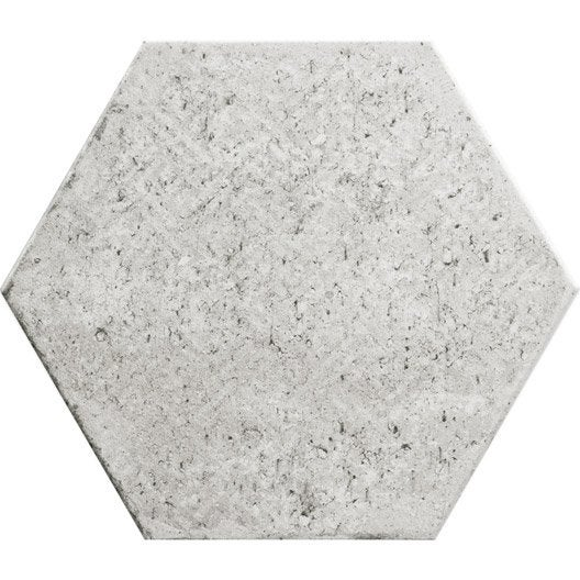 Carrelage sol et mur calcaire decor street hexagone for Carrelage hexagonal leroy merlin