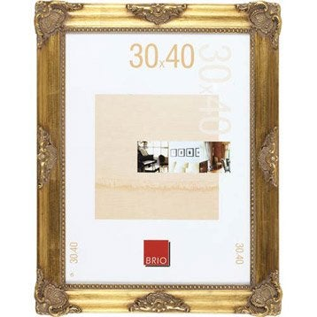 Cadre Opéra, 20 x 30 cm, dorée