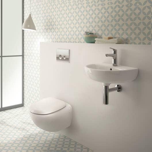 pack wc suspendu b ti universel geberit osmose rimfree leroy merlin. Black Bedroom Furniture Sets. Home Design Ideas