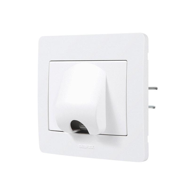 Sortie De Câble Complet Debflex Diam2 Blanc