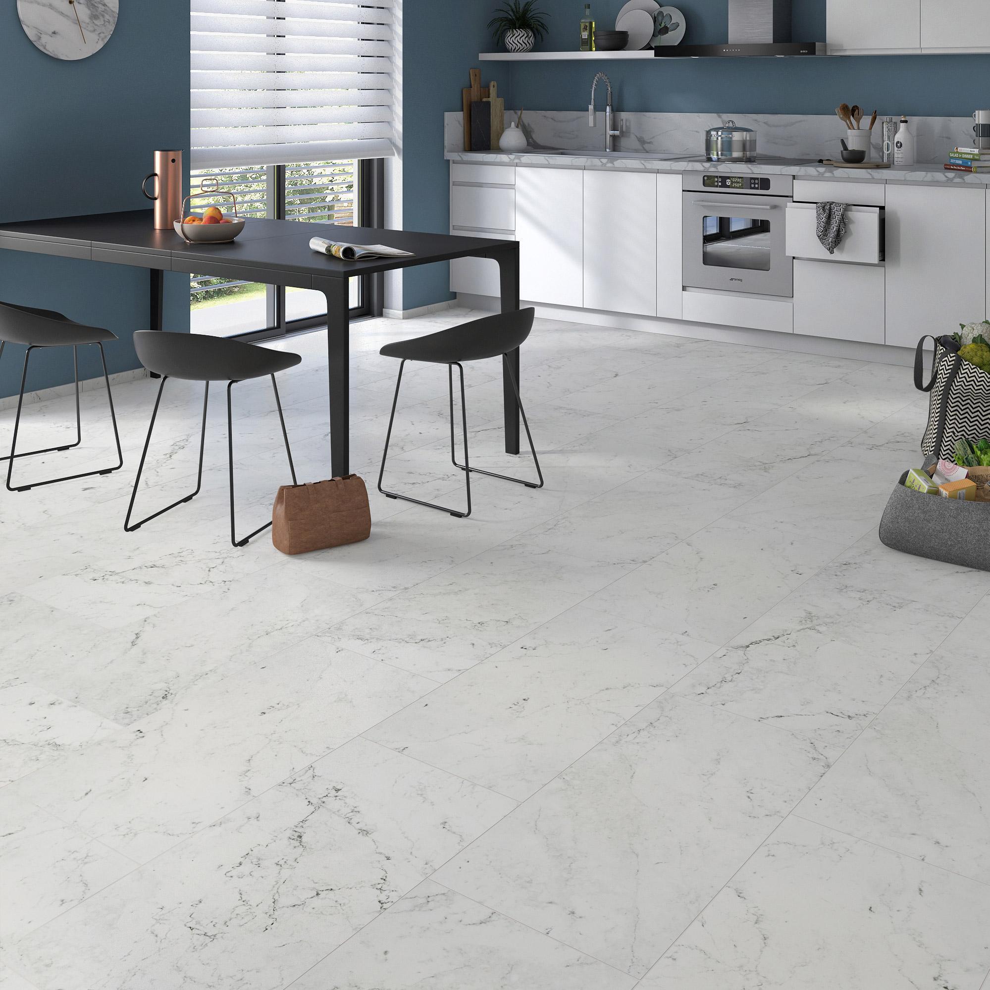 Marbre Blanc Sol Prix carrelage sol et mur intenso effet marbre blanc cos l.40 x l.80 cm cerim  inspire