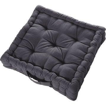 coussin de sol coussin plaid et pouf leroy merlin. Black Bedroom Furniture Sets. Home Design Ideas