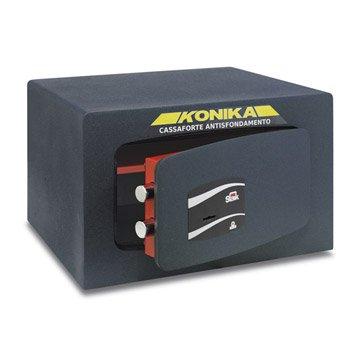 Coffre-fort haute sécurité à clé STARK Konika, H24xl37xP32cm, 19L