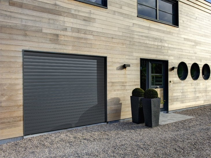 Beautiful portes de garage sur mesure sous haute leroy for Leroy merlin porte garage sur mesure