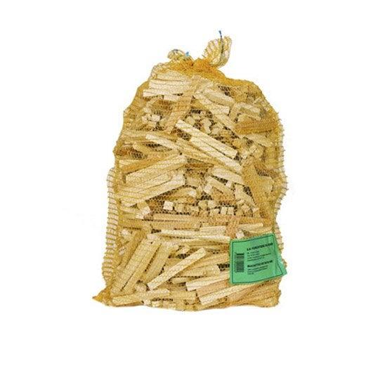 Bois d 39 allumage cm sac 40 l leroy merlin - Poids d un stere de bois sec ...