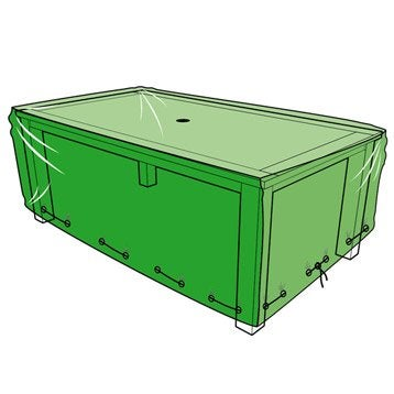 Housse de protection pour table L.240 x l.120 x H.60 cm