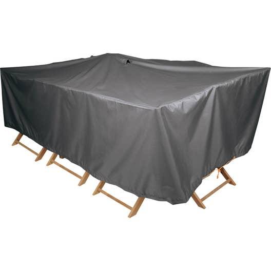 Housse de protection pour table NATERIAL L.240 x l.130 x H.60 cm ...
