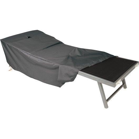 Produits d 39 entretien et housse de protection pour salon de jardin salon de jardin table et - Housse bain de soleil ...