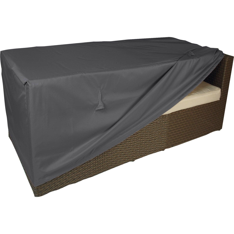 Housse de protection pour canapé NATERIAL L.130 x l.75 x H.60 cm