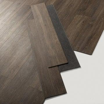 Lame PVC clipsable marron cleveland dark Senso lock + GERFLOR