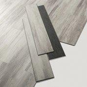 Lame PVC clipsable gris haven white Senso lock + GERFLOR