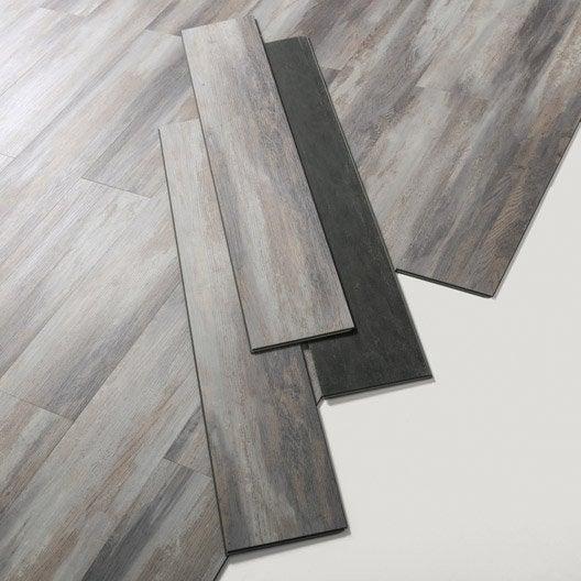 Lame PVC clipsable gris haven grey Senso lock + GERFLOR