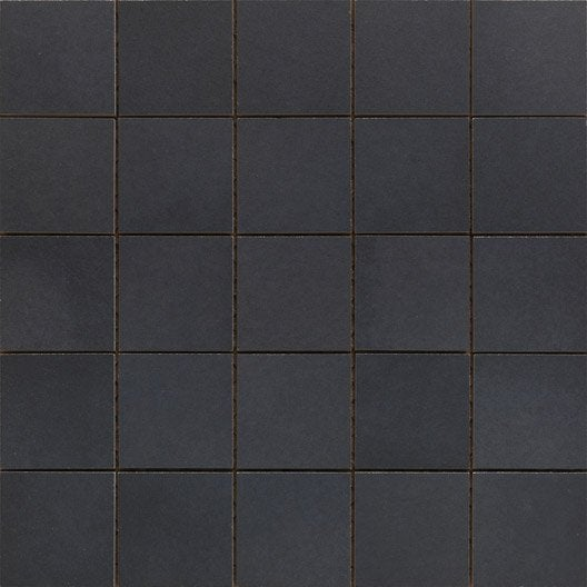 mosa que sol et mur gatsby noir x cm leroy merlin. Black Bedroom Furniture Sets. Home Design Ideas