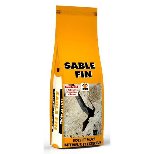 sac sable poudre fin beige 5 kg leroy merlin. Black Bedroom Furniture Sets. Home Design Ideas