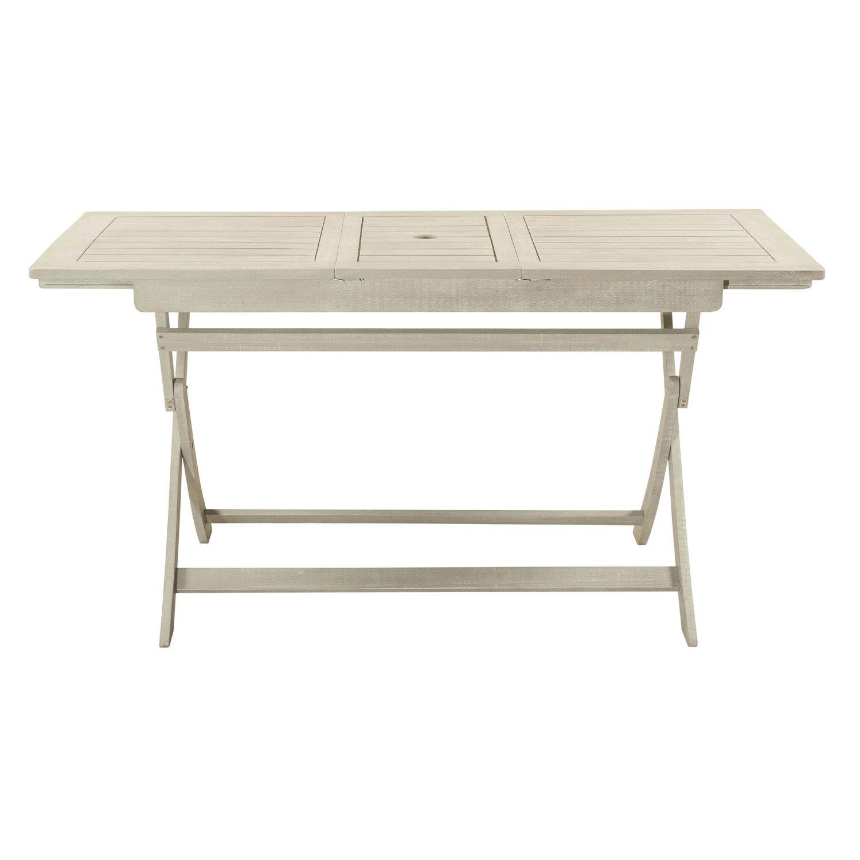 table de jardin de repas naterial portofino rectangulaire. Black Bedroom Furniture Sets. Home Design Ideas