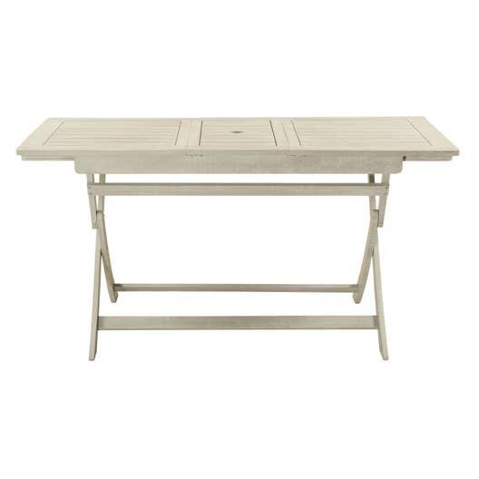Table de jardin de repas naterial portofino rectangulaire for Table 6 personnes