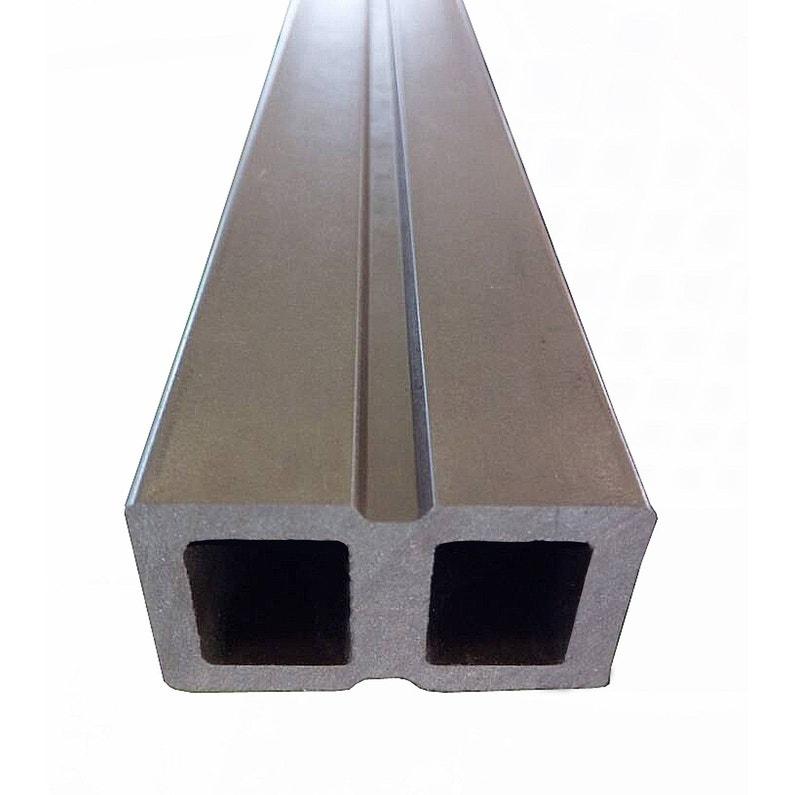 Lambourde Pour Terrasse Composite Atlas Chocolat L 2 2 M X L 5 Cm X Ep 3 0 Mm