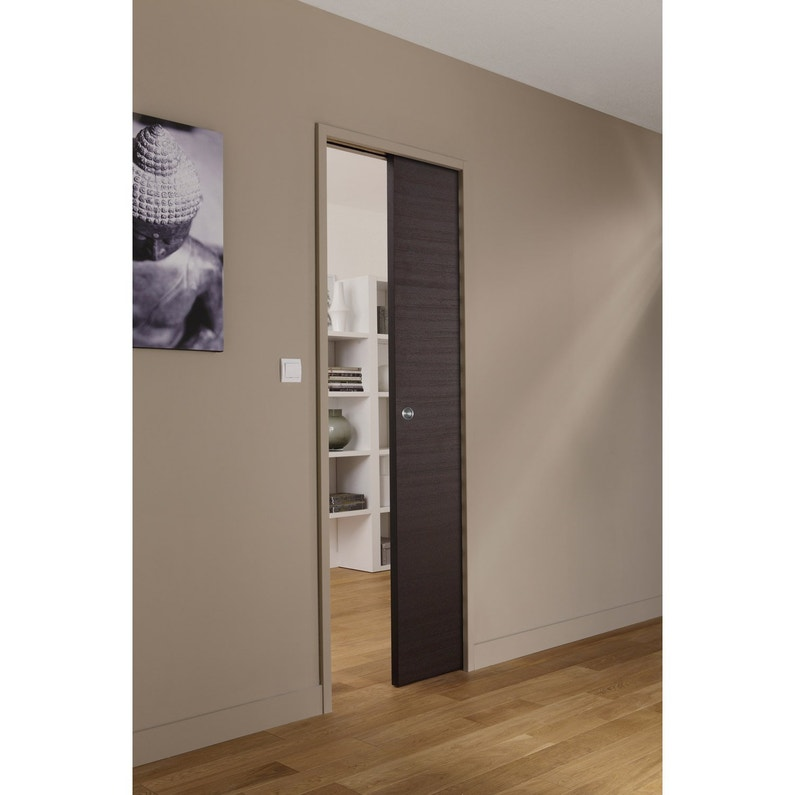 syst me galandage en kit pour porte coulissante artens 3 cm leroy merlin. Black Bedroom Furniture Sets. Home Design Ideas