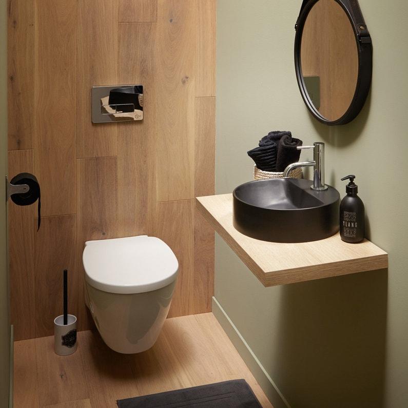 les wc et lave mains dans un espace zen leroy merlin. Black Bedroom Furniture Sets. Home Design Ideas