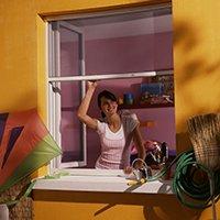 Recoupable, le moustiquaire s'adapte à toutes les ouvertures
