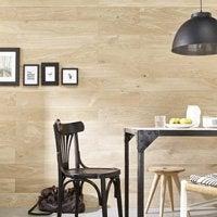 On s'y trompe : Le lambris PVC imite le bois