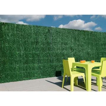 haie artificielle pvc naterial vert cm x cm. Black Bedroom Furniture Sets. Home Design Ideas