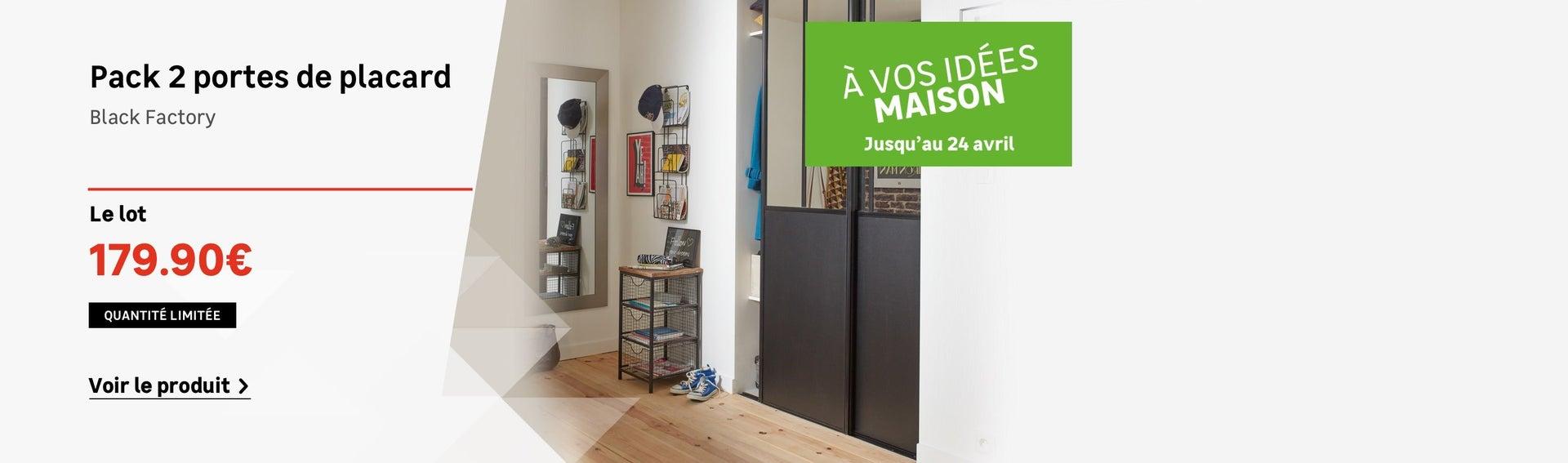 Dressing Rangement Aménagement étagères Portes De Placards Et - Porte placard coulissante jumelé avec changement de serrure paris