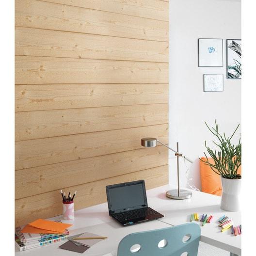 lambris pic a brut de sciage naturel x cm. Black Bedroom Furniture Sets. Home Design Ideas