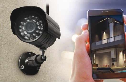 Kit de vidéosurveillance intérieur   extérieur connecté sans fil Dvr423b  THOMSON 72d2f019f5f