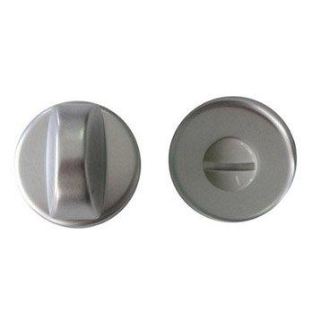 2 rosaces de fonction A10 à condamnation / décondamnation, aluminium anodisé