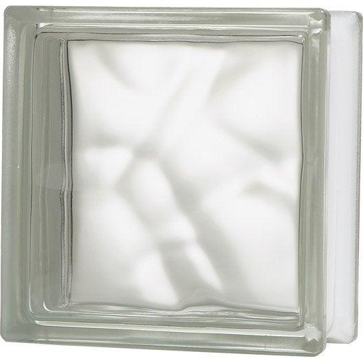 Posalight des briques de verre lumineuses leroy merlin - Brique de verre exterieur ...