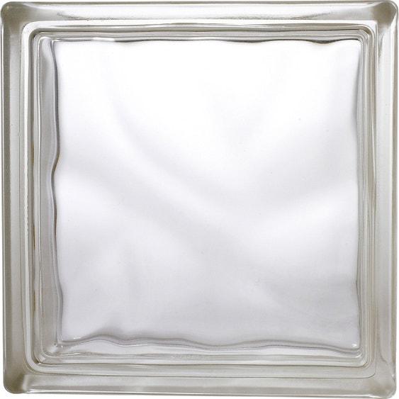brique de verre transparent ondul233 brillant leroy merlin