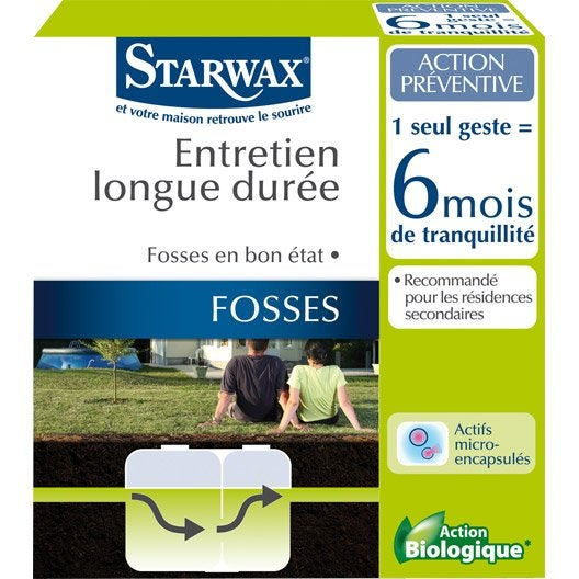 traitement activateur biologique micro capsules starwax 0 5 kg leroy merlin. Black Bedroom Furniture Sets. Home Design Ideas