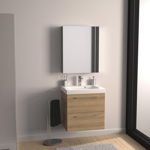 meuble vasque 61 cm remix | leroy merlin