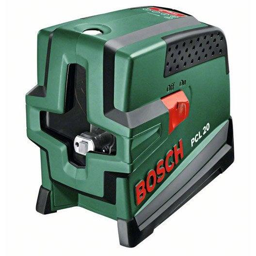 Niveau laser croix automatique bosch pcl 20 set deluxe for Meilleur niveau laser automatique