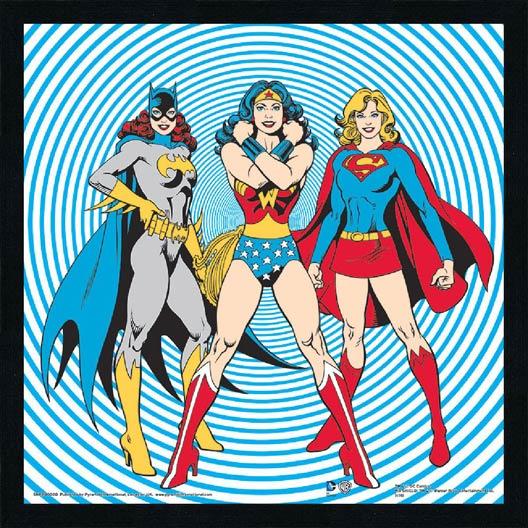 Image encadr e femmes heroes for Miroir 90x30