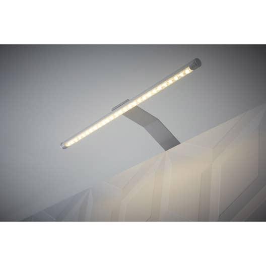 Applique Rio led intégrée INSPIRE 6 W gris, lumière blanche | Leroy ...