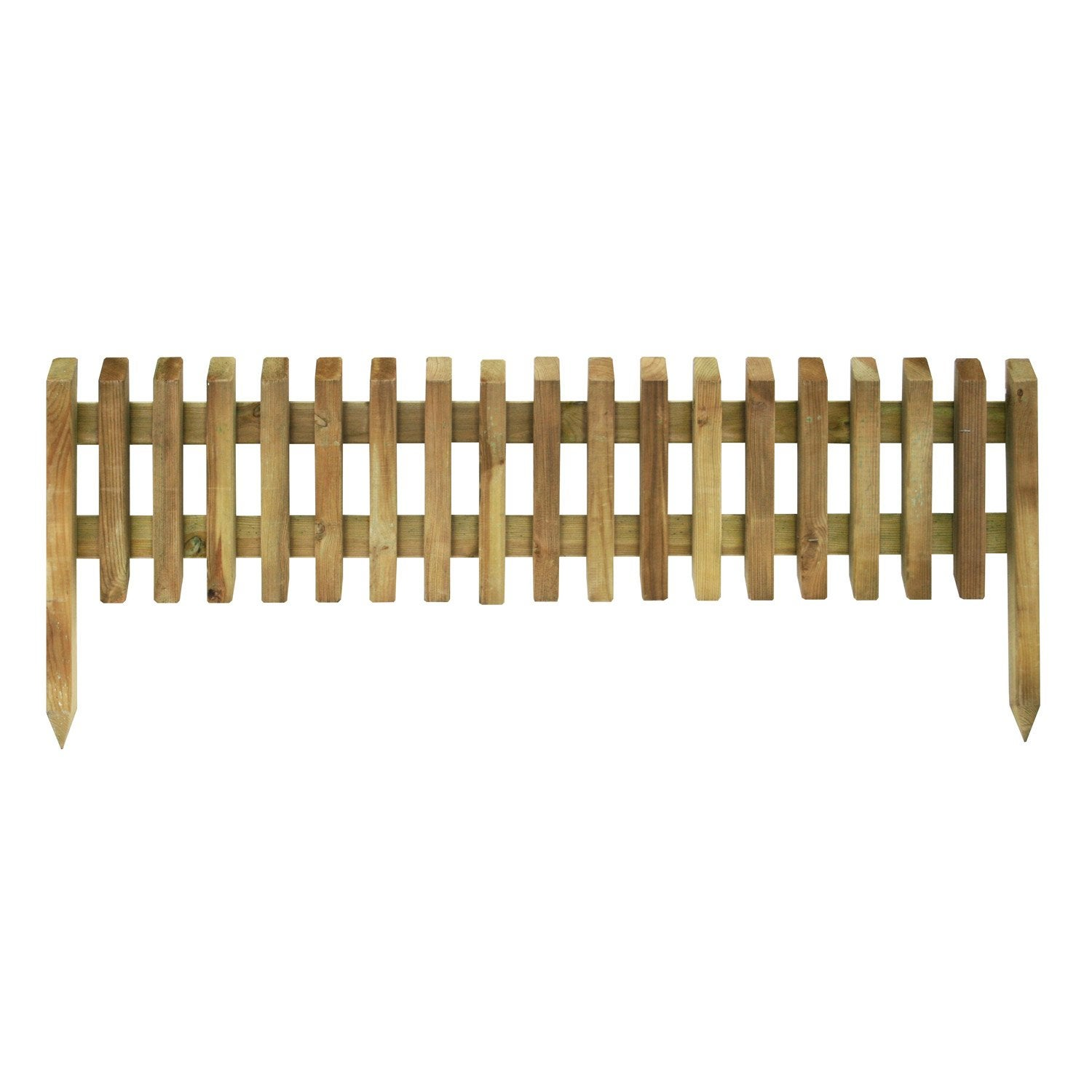 Bordure à planter Pikasso bois naturel, H.45 x L.112 cm | Leroy Merlin