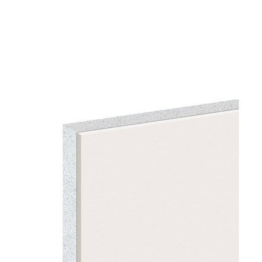 doublage en polystyr ne expans th 38 knauf 2 6 x ep 13 80mm r leroy merlin. Black Bedroom Furniture Sets. Home Design Ideas