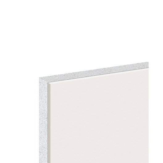doublage en polystyr ne expans th38 hydro knauf r leroy merlin. Black Bedroom Furniture Sets. Home Design Ideas