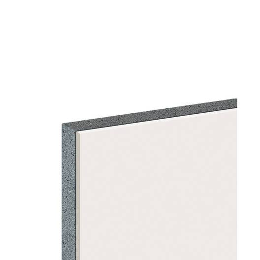 doublage en polystyr ne expans th 32 knauf 2 5 x ep 13 100mm r leroy merlin. Black Bedroom Furniture Sets. Home Design Ideas