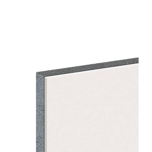 doublage en polystyr ne expans th 32 knauf 2 5 x ep 13 120mm r 3 8 leroy merlin. Black Bedroom Furniture Sets. Home Design Ideas