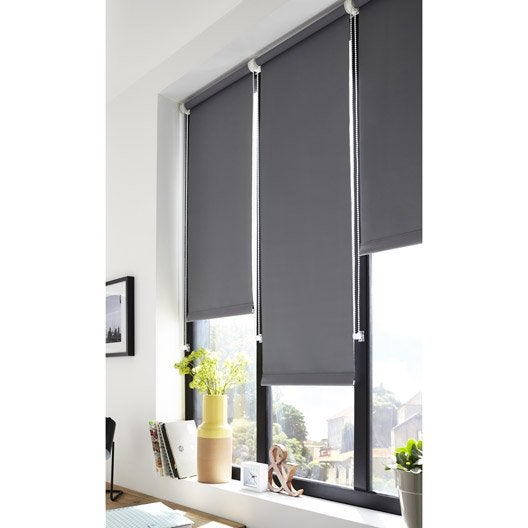 store enrouleur occultant 5785 inspire gris galet n 3 40x160 cm leroy merlin. Black Bedroom Furniture Sets. Home Design Ideas