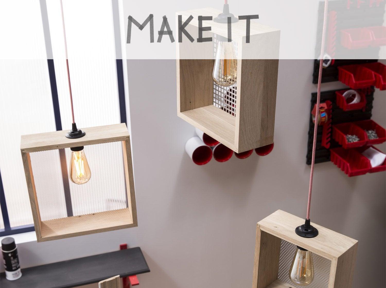 DIY : Créer une suspension perforée