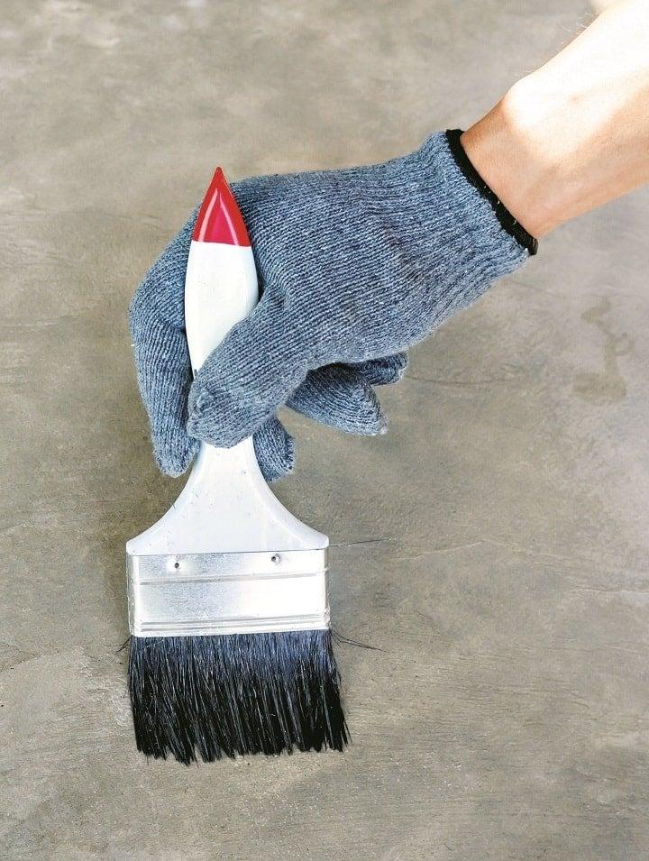 peindre un sol en ciment b ton leroy merlin. Black Bedroom Furniture Sets. Home Design Ideas