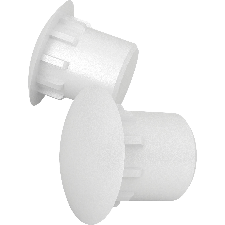 Cacher Trou Carrelage Salle De Bain lot de 100 lot de 120 cache-trous plastique blanc tête ronde finsa x l.90 mm